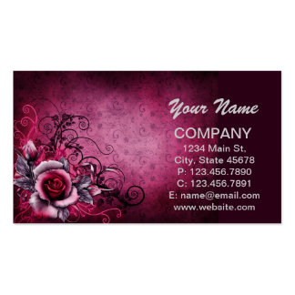 Blooming Red Rose Business Card