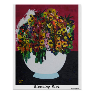 Blooming Riot Poster