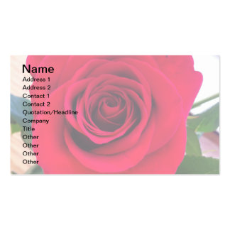 BLOOMING ROSE BUSINESS CARD