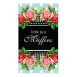 Blooming Roses Contemporary Business Card