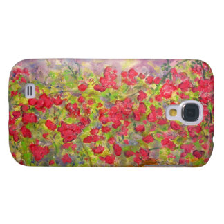 blooming roses galaxy s4 cases