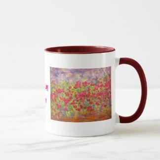 blooming roses(slogan) mug