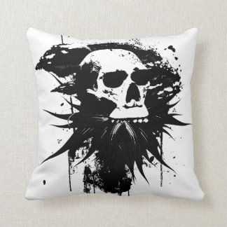 Blooming Skull Pillow