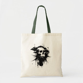 Blooming Skull Tote Bag