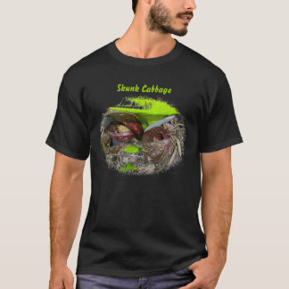 Blooming Skunk Cabbage T-Shirt