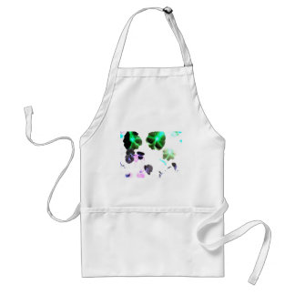 Blooming space aprons