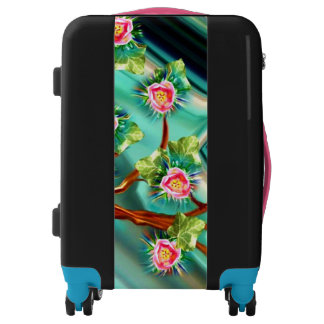 Blooming Spring Fantasy Tree Luggage