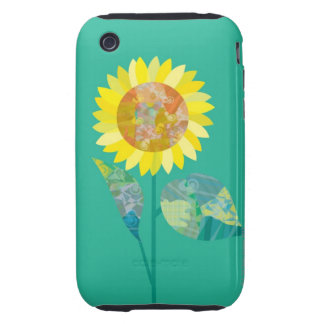 Blooming Sunflowers Tough iPhone 3 Case