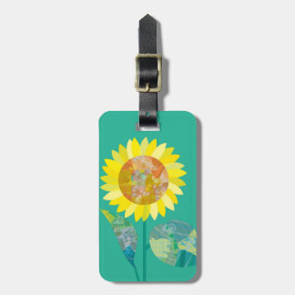 Blooming Sunflowers Bag Tags
