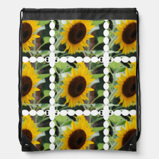 Blooming Sunflowers Backpack