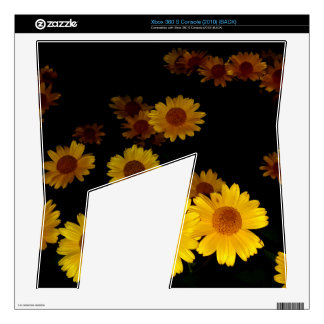 Blooming Sunflowers Xbox 360 S Console Skin