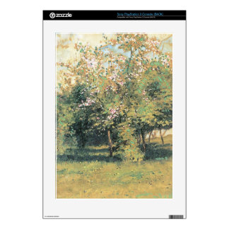 Blooming Trees by Childe Hassam PS3 Console Decals