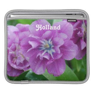 Blooming Tulips in Holland iPad Sleeve