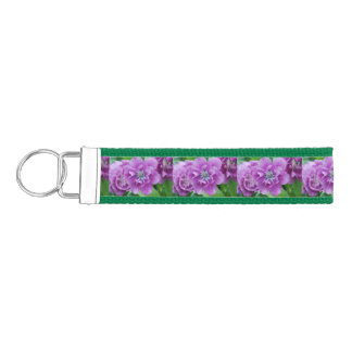 Blooming Tulips in Holland Wrist Keychain