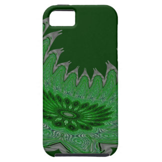 Blooming Wings green iPhone SE/5/5s Case
