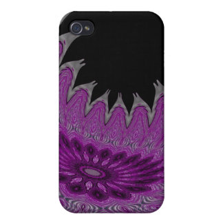 Blooming Wings purple iPhone 4/4S Cases