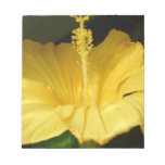 Blooming Yellow Hibiscus  Notepad