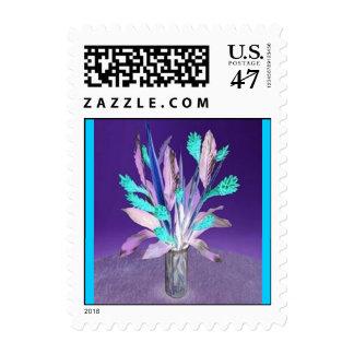 BloomingBlue3 Stamp