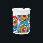 "bloomingoriginal.jpg beverage pitcher<br><div class=""desc"">watercolor painting</div>"