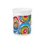 bloomingoriginal.jpg beverage pitcher<br><div class='desc'>watercolor painting</div>