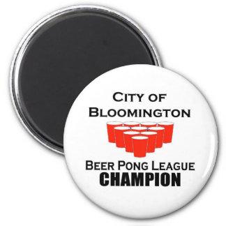 Bloomington Beer Pong Champion Magnet