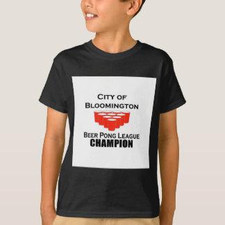 Bloomington Beer Pong Champion T-Shirt