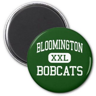 Bloomington - Bobcats - High - Bloomington Texas 2 Inch Round Magnet