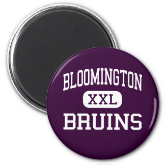 Bloomington - Bruins - High - Bloomington 2 Inch Round Magnet
