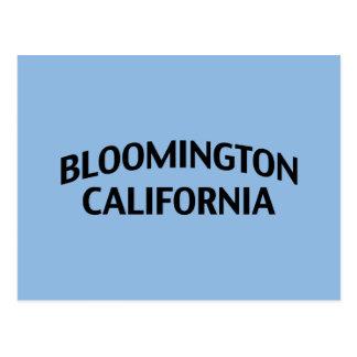 Bloomington California Postcard