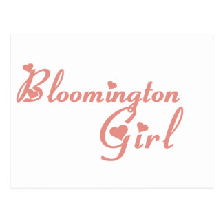Bloomington Girl tee shirts Postcard