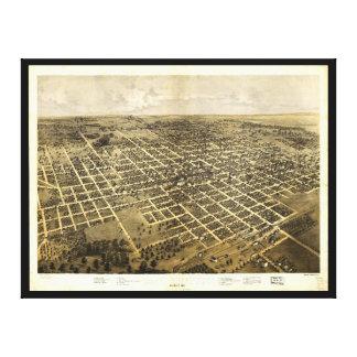 Bloomington, Illinois (1867) Canvas Print