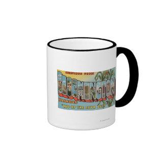 Bloomington, Illinois - escenas grandes 2 de la le Tazas De Café