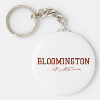 Bloomington Llavero Redondo Tipo Pin