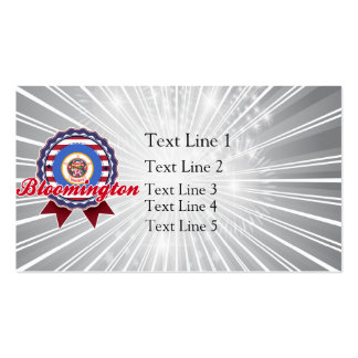 Bloomington, MN Double-Sided Standard Business Cards (Pack Of 100)