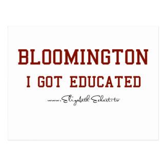 Bloomington Postcard