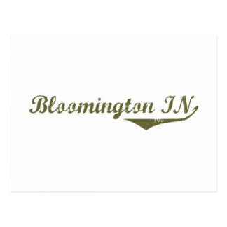 Bloomington Revolution tee shirts Post Card