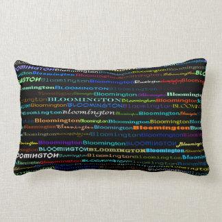 Bloomington Text Design I Lumbar Pillow