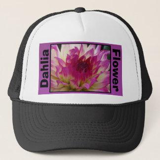 Bloomquist Dawn Violet Dahlia Flower Trucker Hat