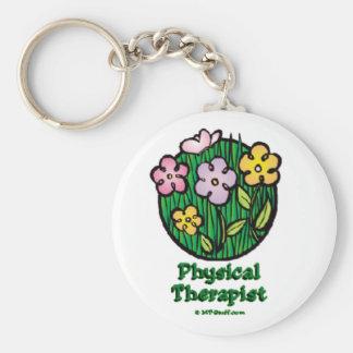 Blooms 1 PT Keychain