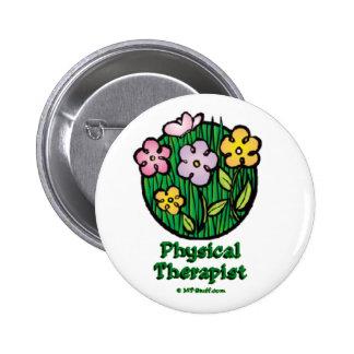 Blooms 1 PT Pinback Button