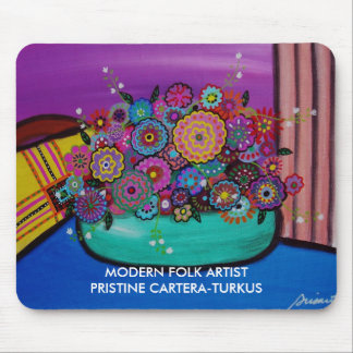 BLOOMS 8 MOUSE PAD