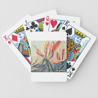 Blooms Bicycle Playing Cards