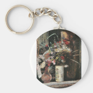 Blooms by Lesser Ury Keychain