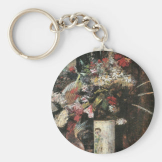 Blooms by Lesser Ury Key Chains
