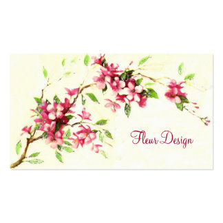 Blooms Double-Sided Standard Business Cards (Pack Of 100)