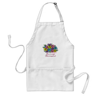 Blooms M Therapist Aprons