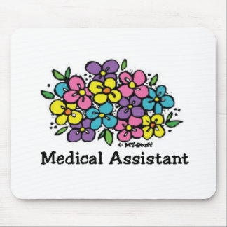 Blooms Medical Assistant Mouse Pad