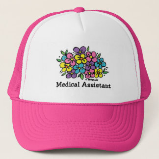 Blooms Medical Assistant Trucker Hat