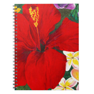 """Blooms of Aloha"" Note Books"