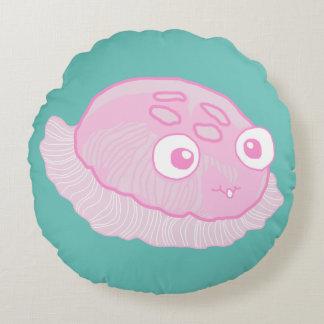 Bloop Merpuff Round Pillow